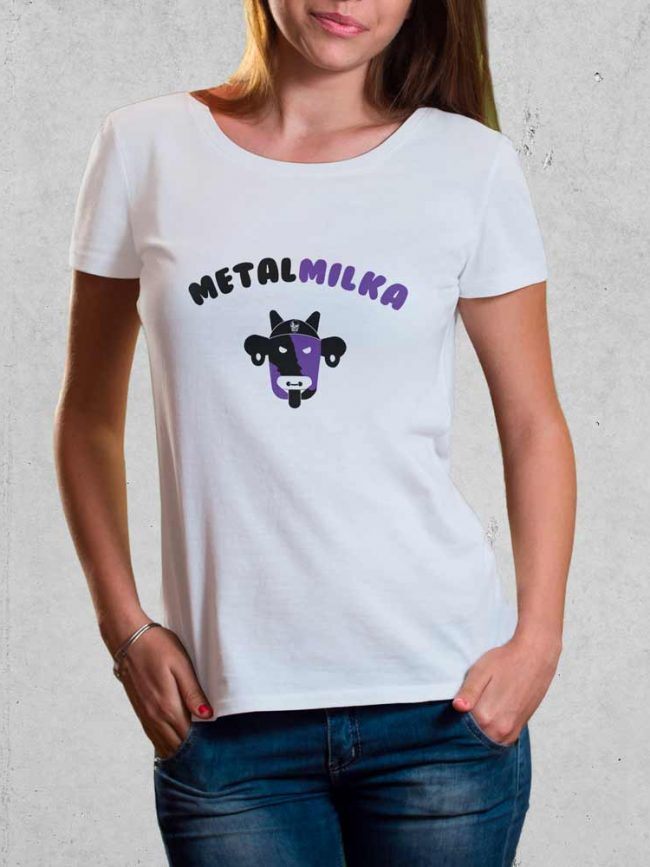 T-shirt Metalmilka