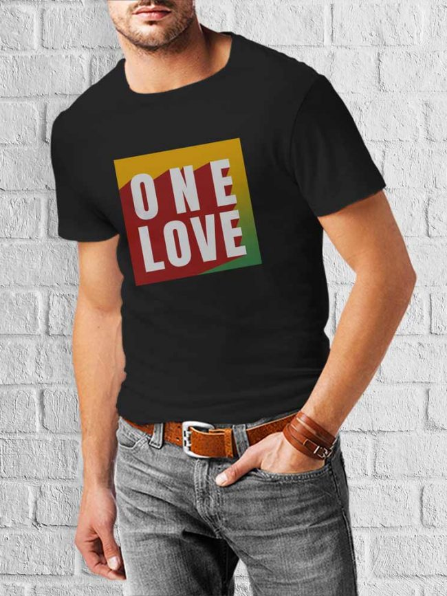 T-shirt One love 1