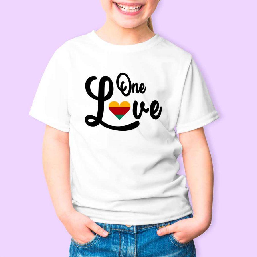 T-shirt One love 2