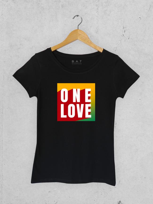 T-shirt One love 1