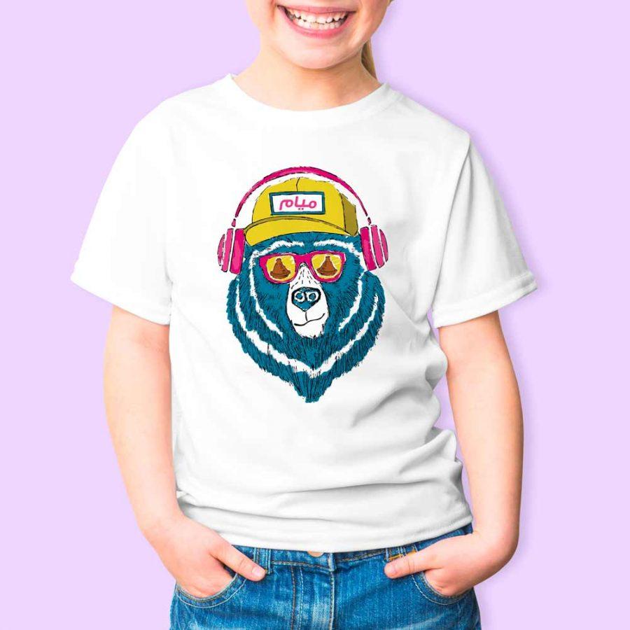 T-shirt Ours tajine