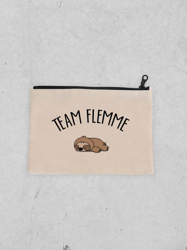 Pochette Team flemme