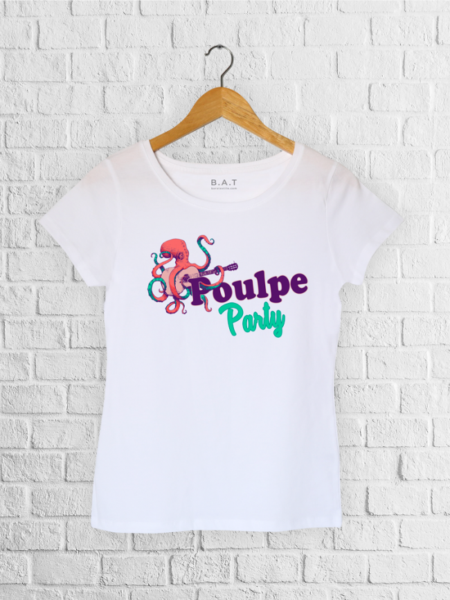 T-shirt Poulpe party