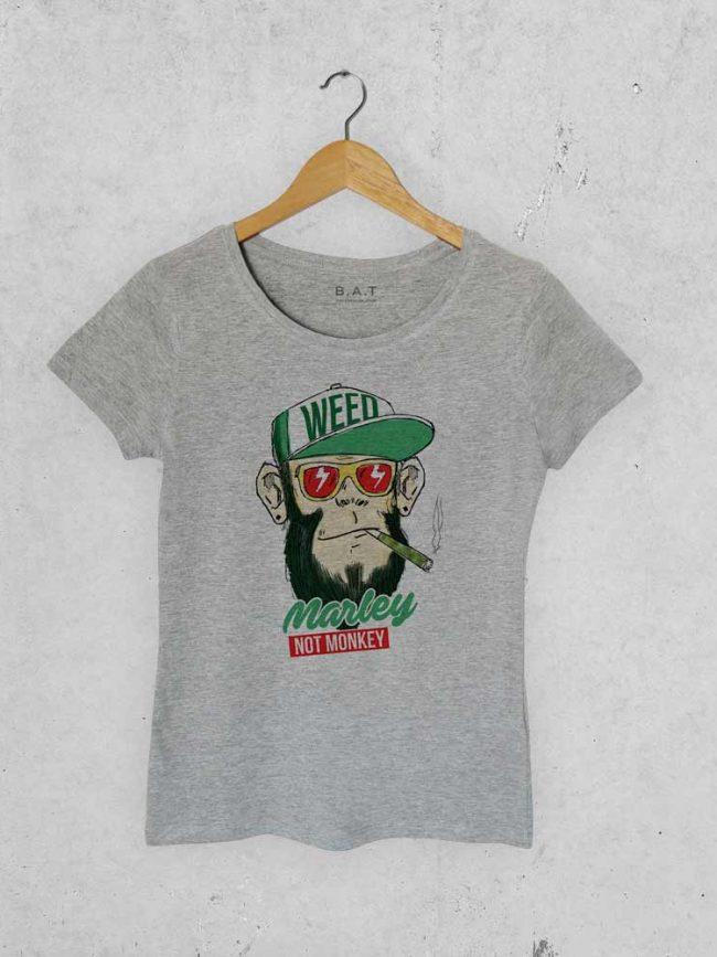 T-shirt Marley not monkey
