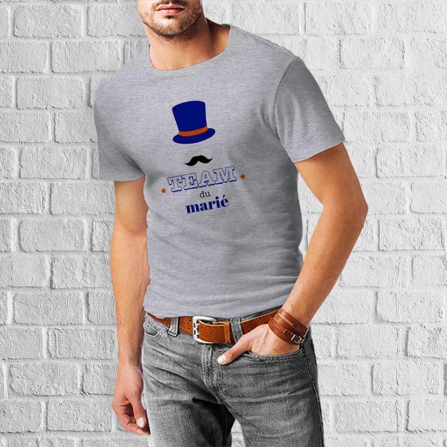 T-shirt Team marié 2 – EVG