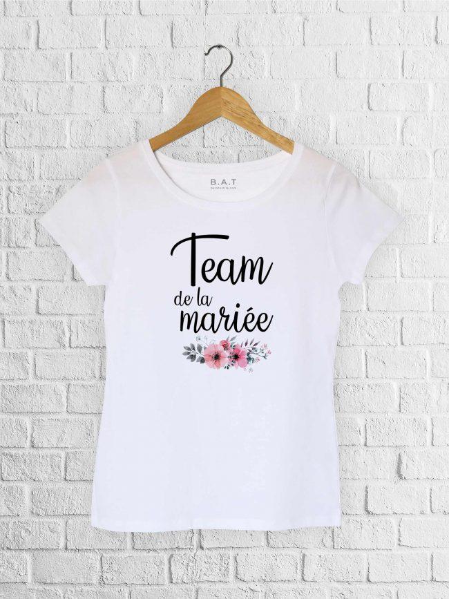 T-shirt Team mariée 1