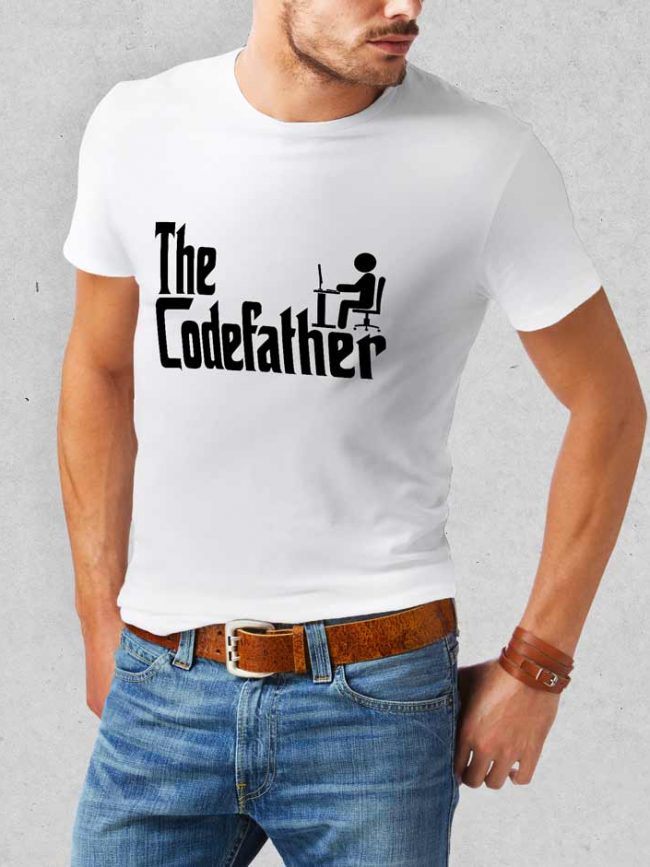 T-shirt The codefather