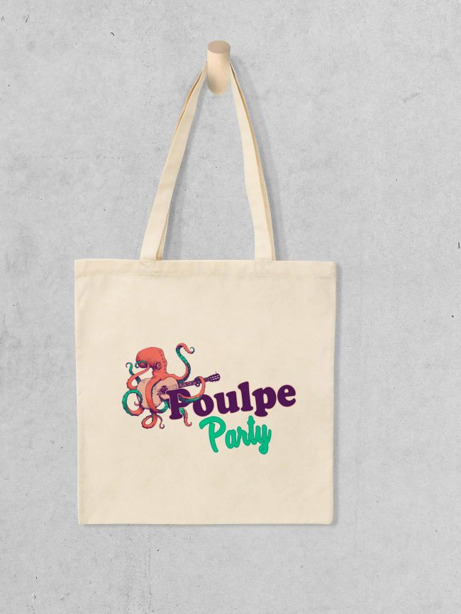 Tote bag Poulpe party