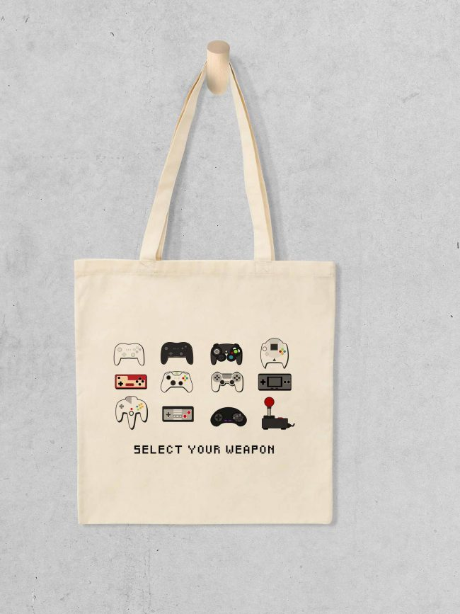 Tote bag Select your weapon
