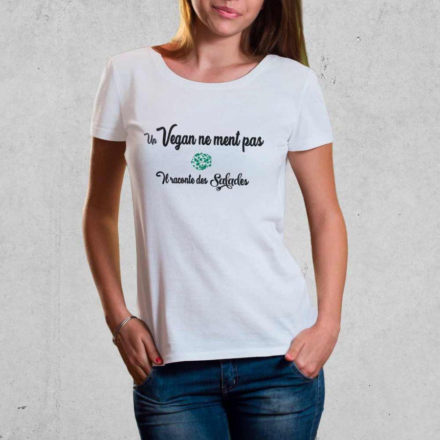 T-shirt Vegan salades