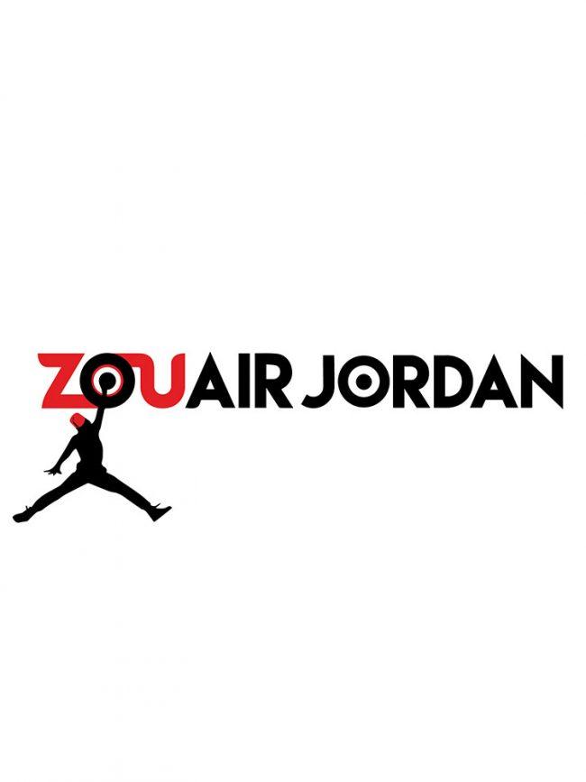 T-shirt Zouair jordan