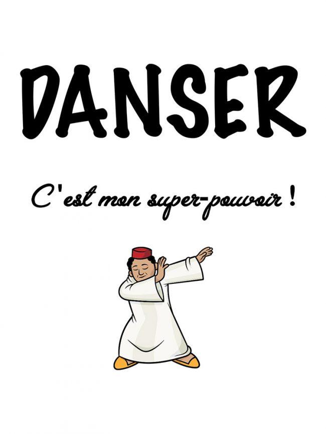 Tote bag Danser super pouvoir