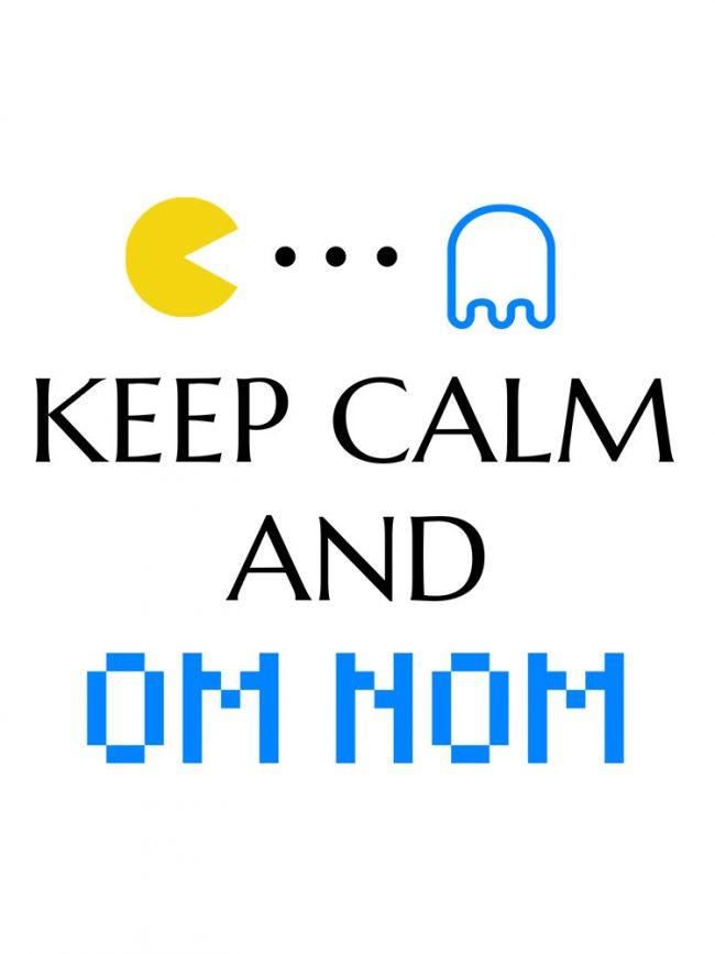 T-shirt Om nom