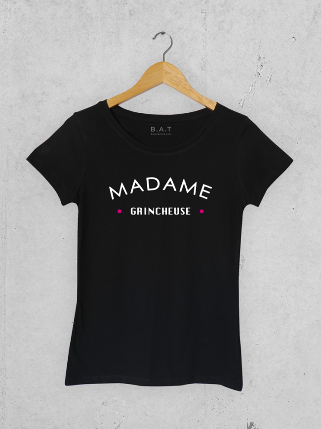 T-shirt Mme grincheuse