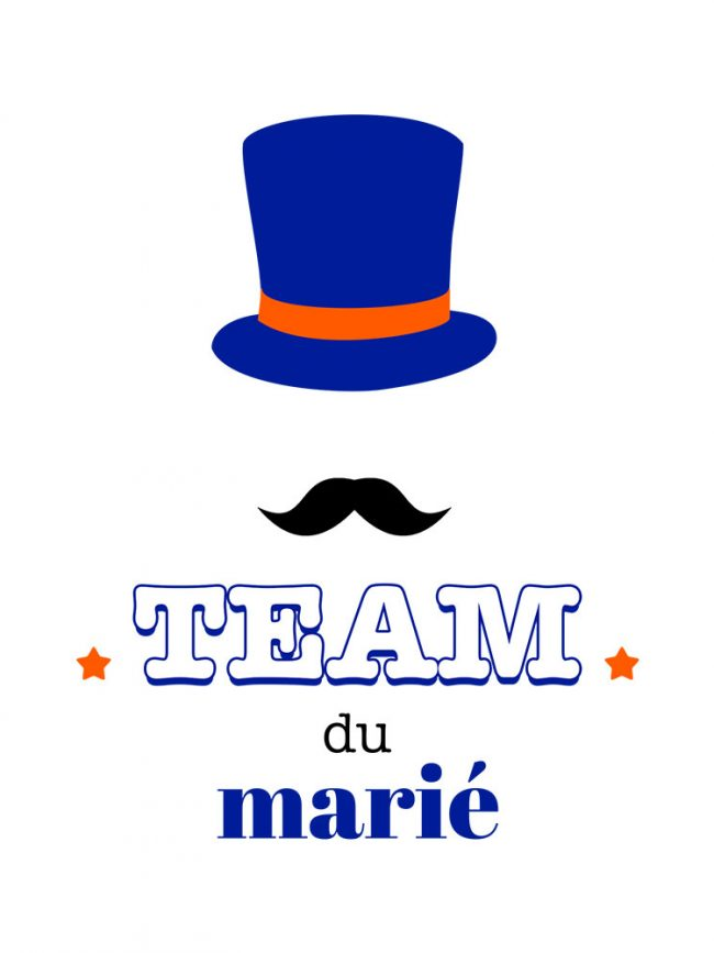 T-shirt Team marié 2 – EVG