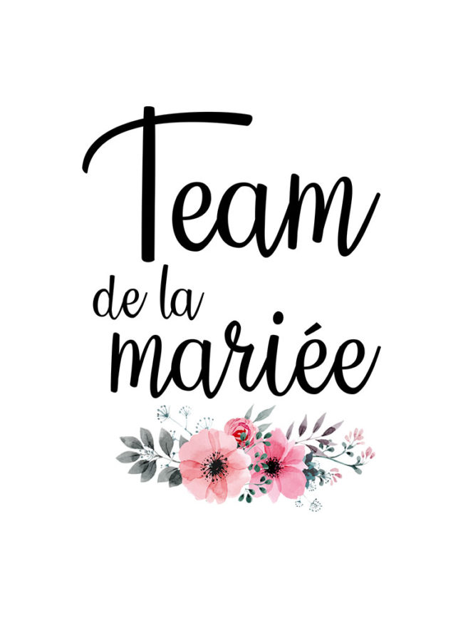 Cabas Team mariée 1 – EVJF