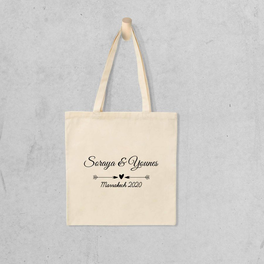 Tote bag Save the date 3