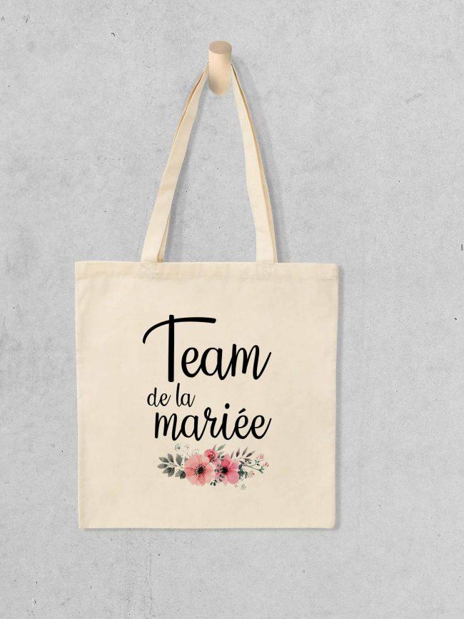 Tote bag Team mariée 1 – EVJF