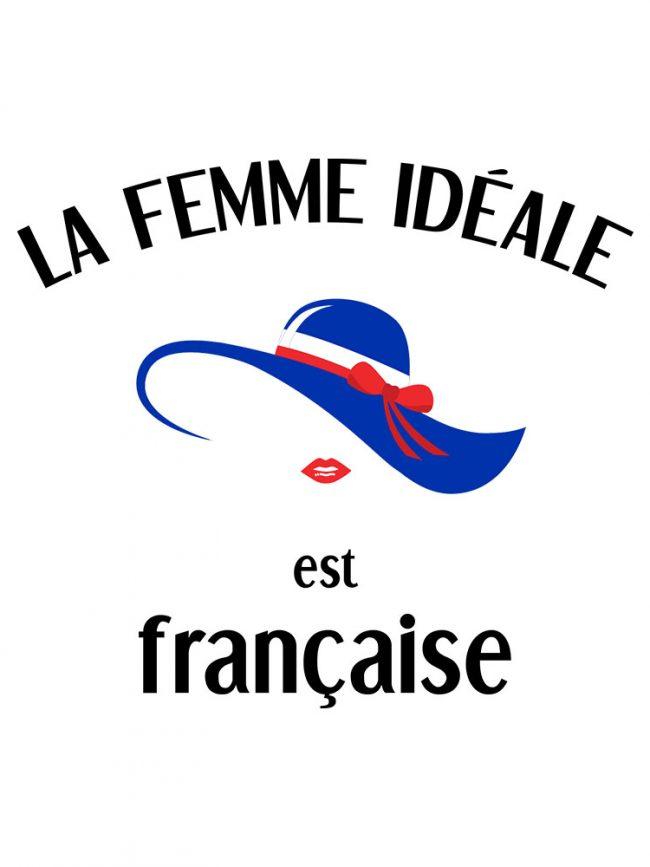 T-shirt Femme française