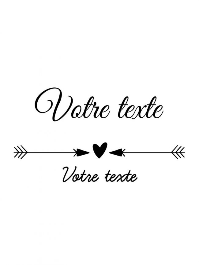 Tote bag Save the date 3 personnalisé