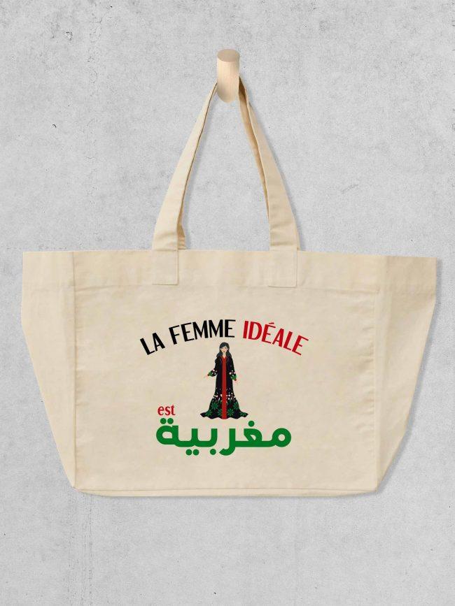 Cabas Femme marocaine 1