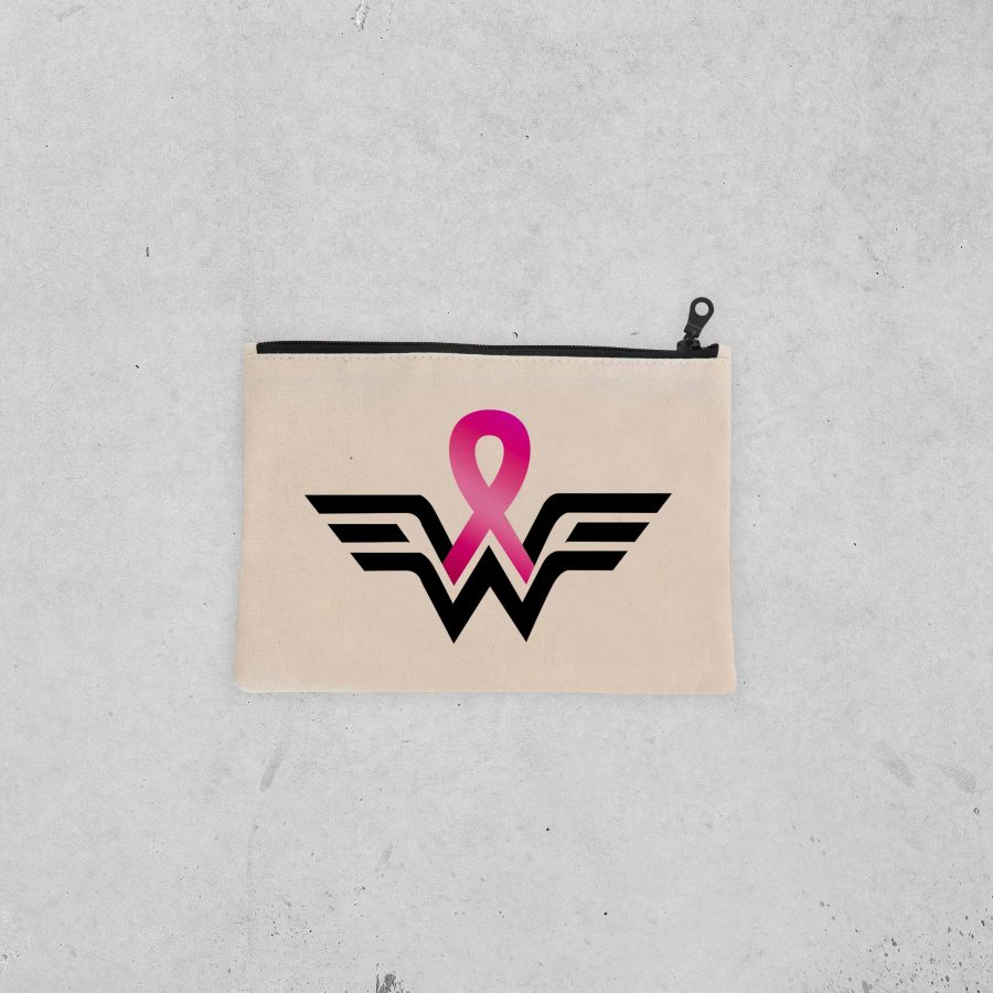 Pochette Warrior 1 – Ruban rose