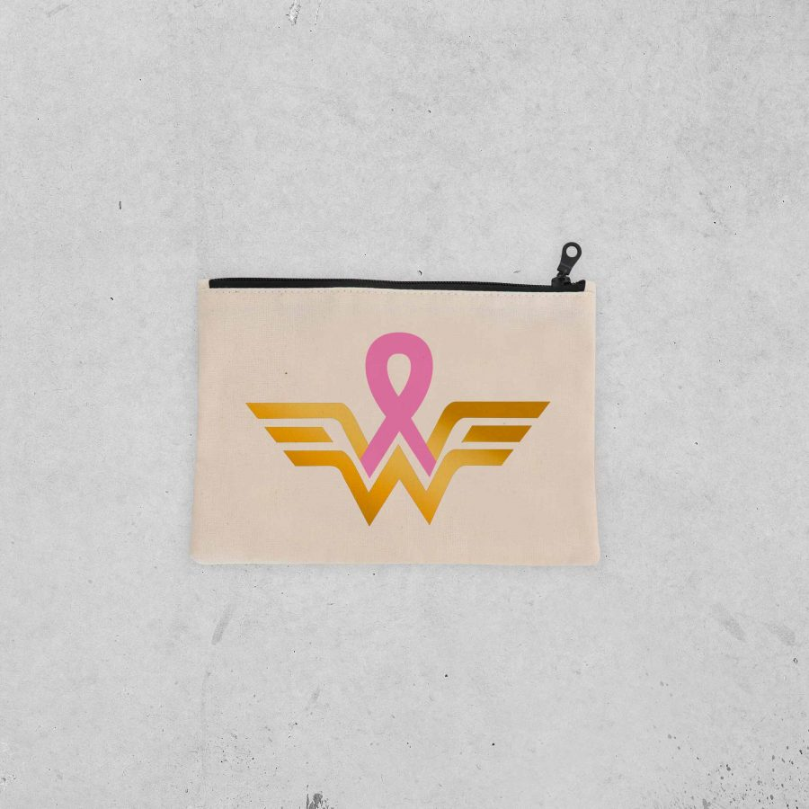 Pochette Warrior 2 – Ruban rose