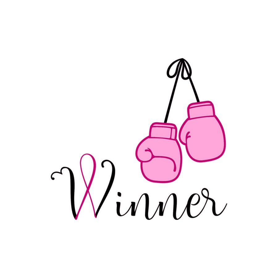 Pochette Winner – Ruban rose