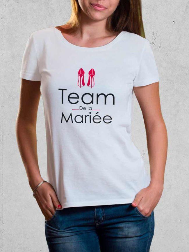 T-shirt Team mariée 2 – EVJF