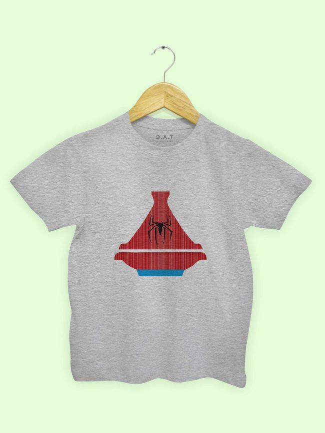 T-shirt Spiderman Tajine
