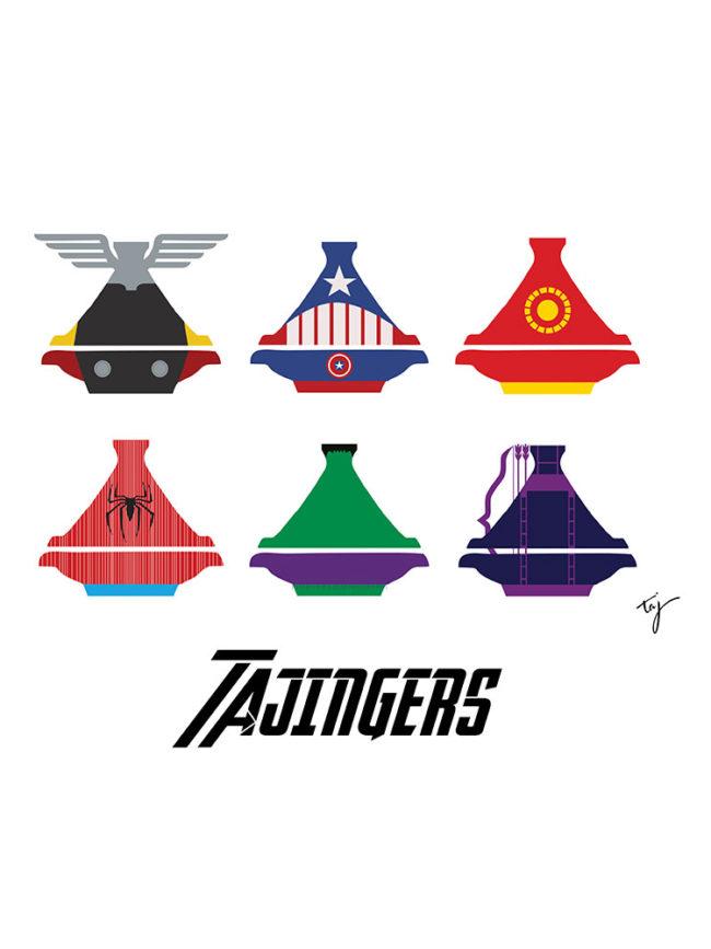 Tote bag Avengers Tajine