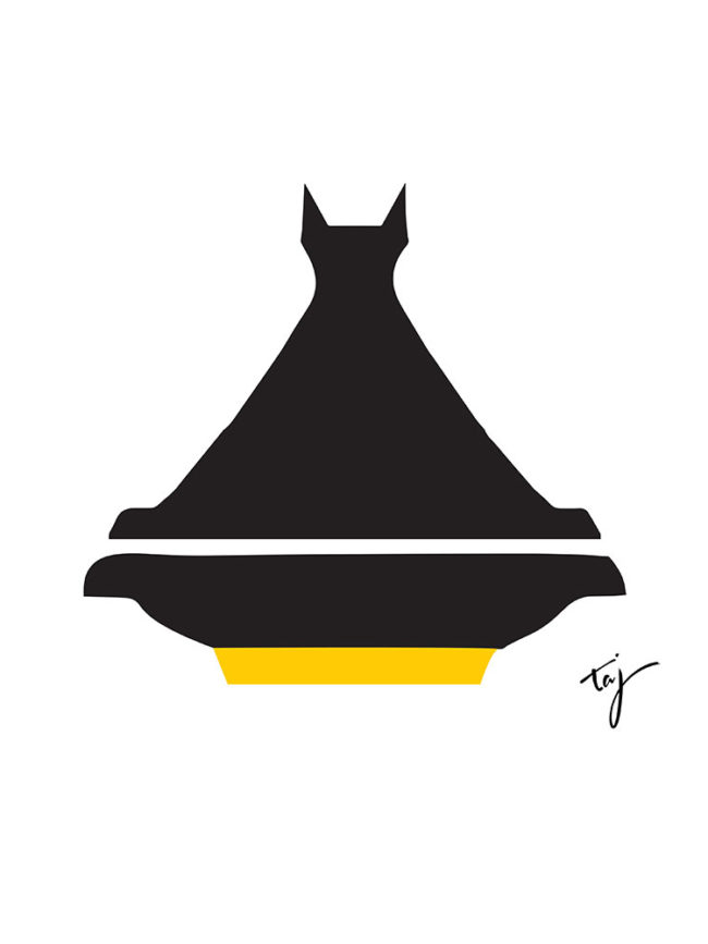 T-shirt Batman Tajine