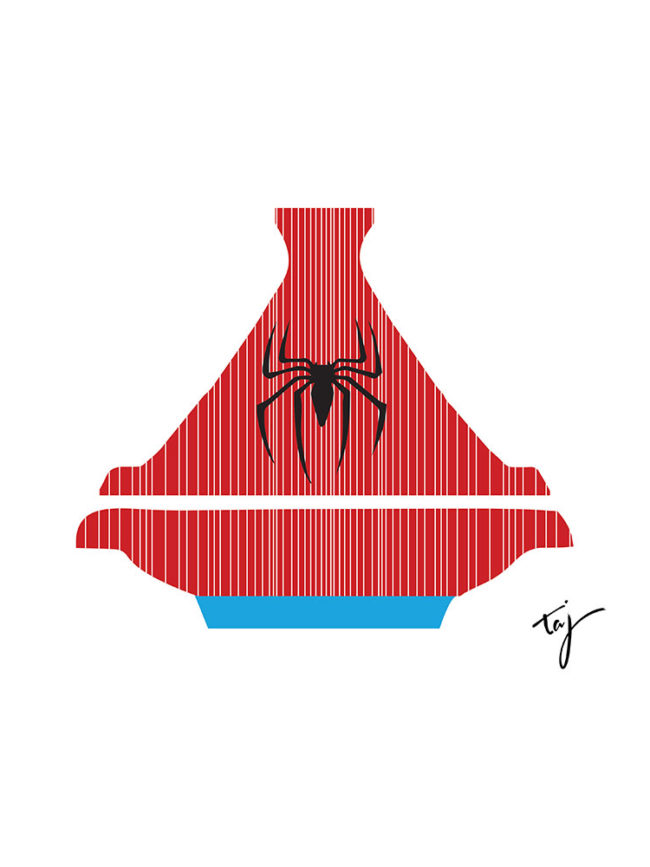 Body Spiderman Tajine