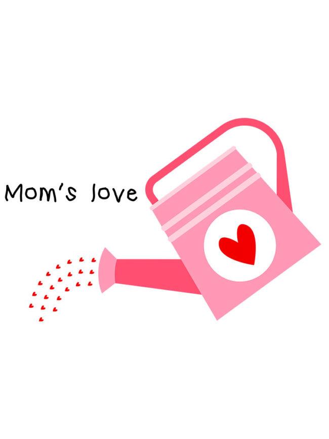 T-shirt Arrosoir mom