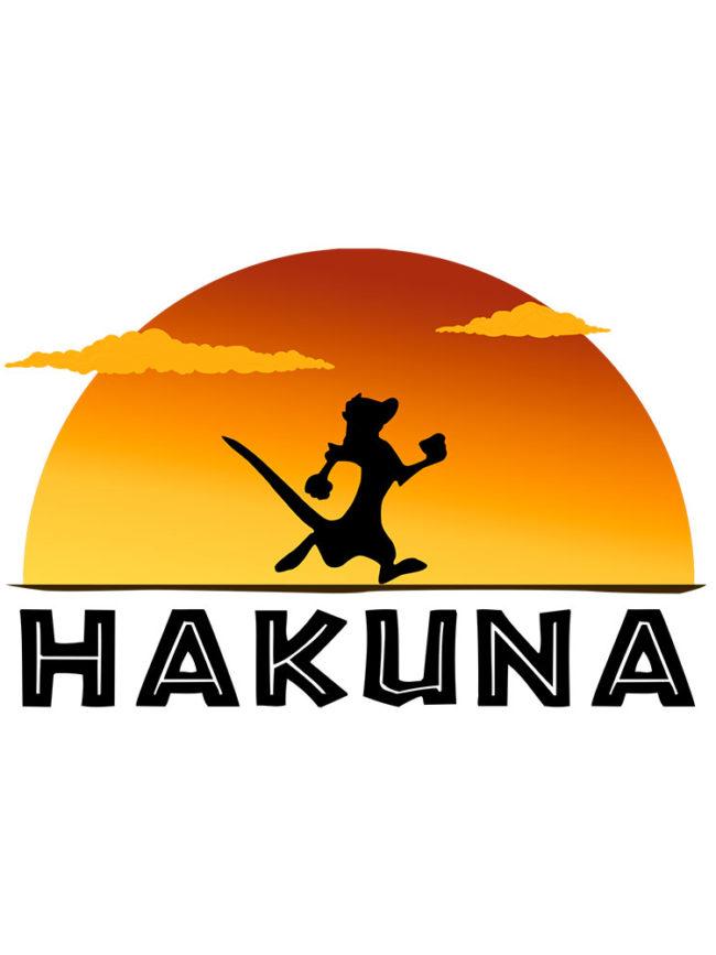 T-shirt Hakuna