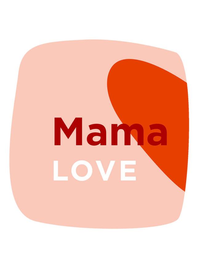 T-shirt Love Mama