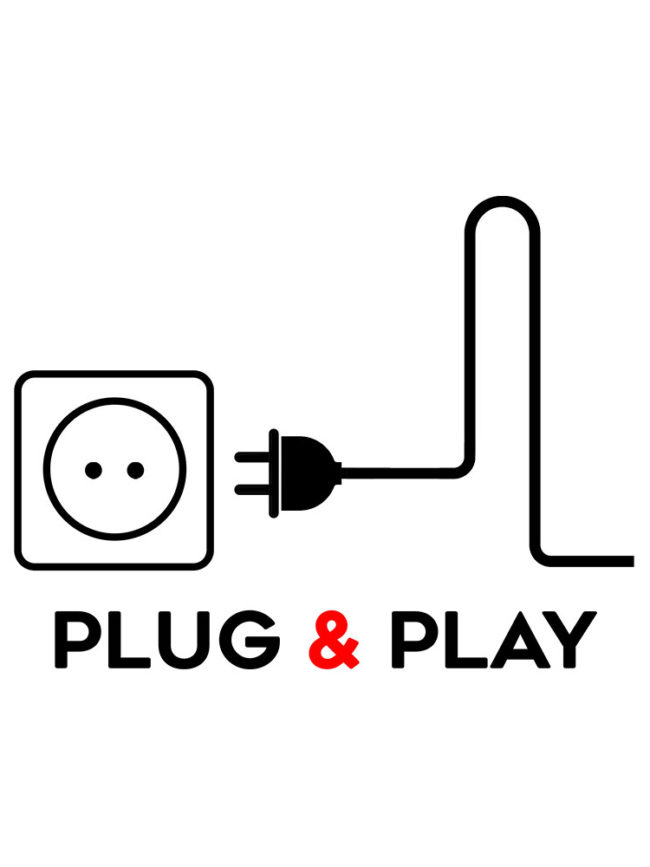 T-shirt Plug and Play