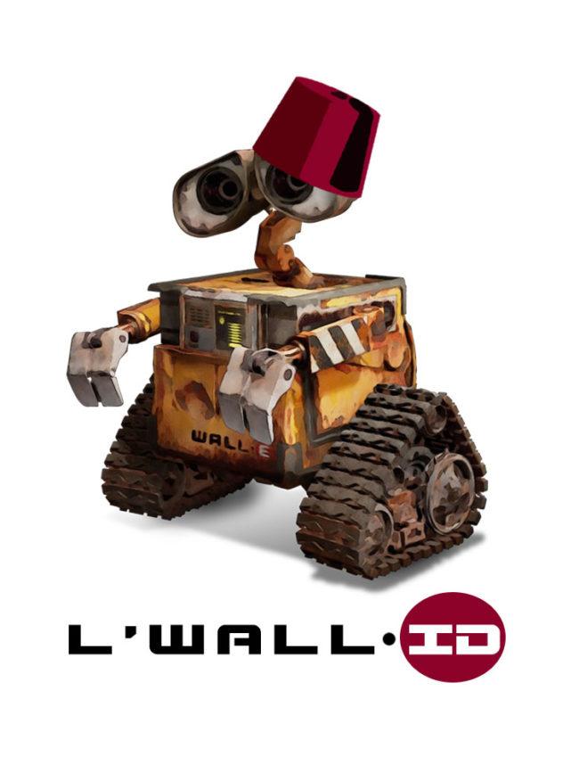 T-shirt L'Wall-id