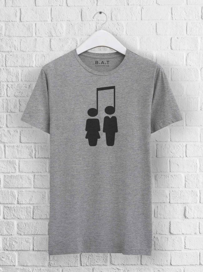 T-shirt Music brings people together
