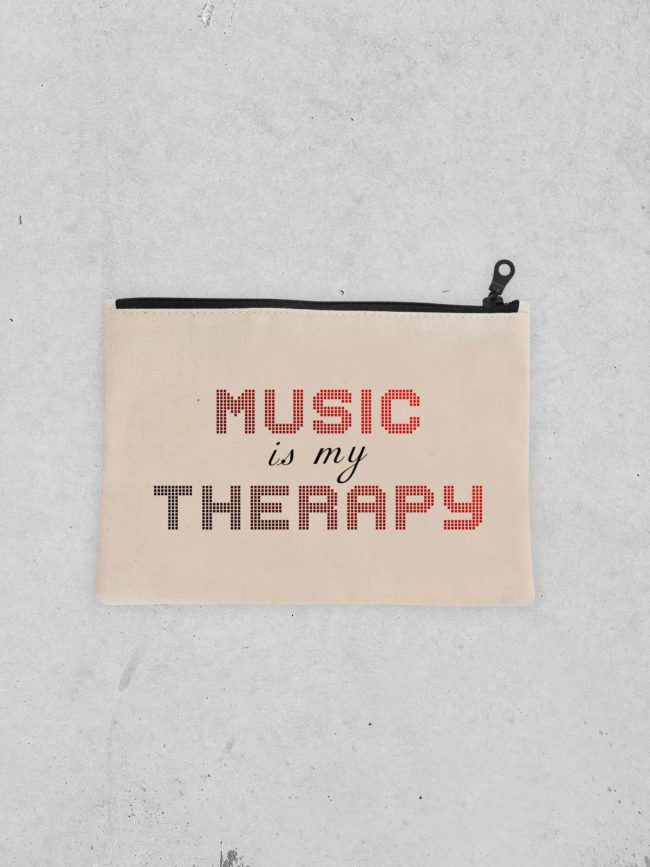 Pochette Music is my therapy