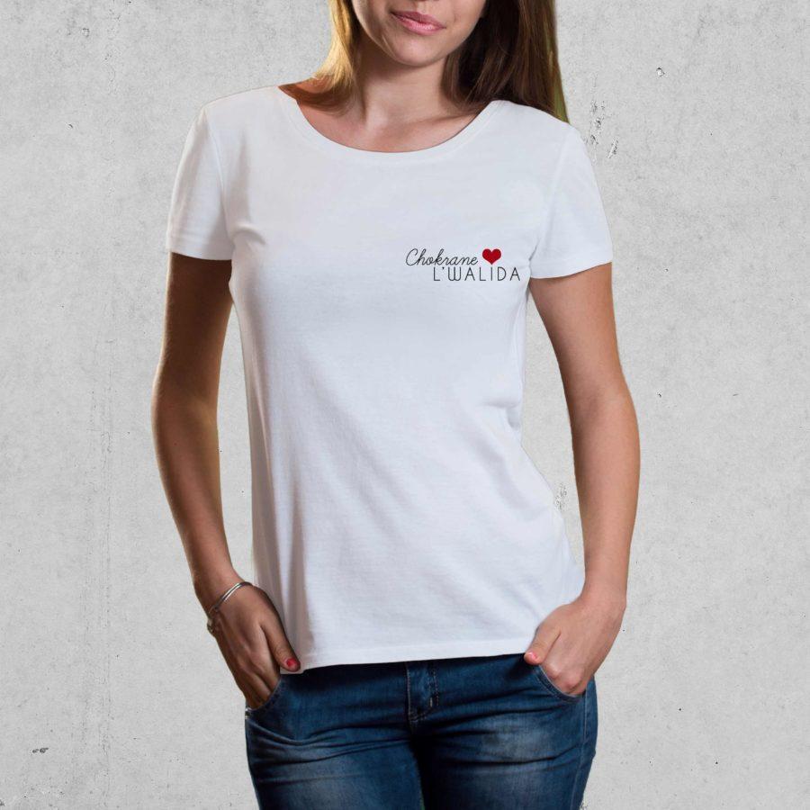 T-shirt Chokrane L'walida