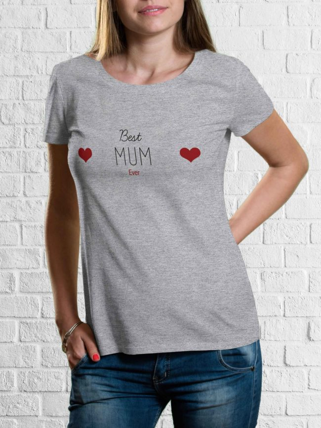 T-shirt Best mum ever