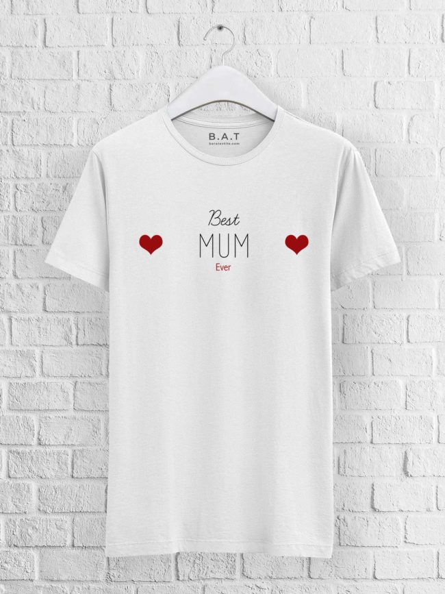 T-shirt mixte – Best mum ever