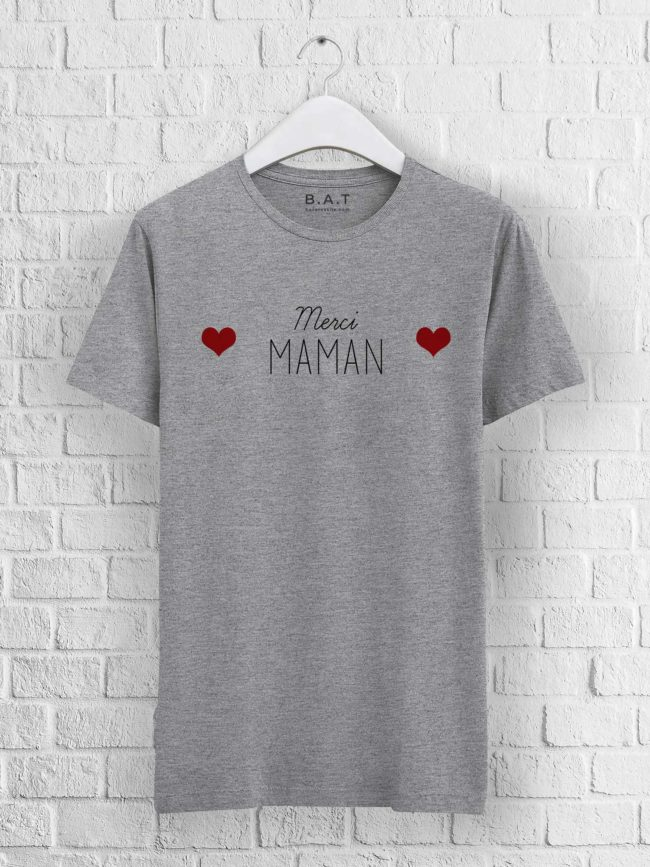 T-shirt mixte – Merci maman
