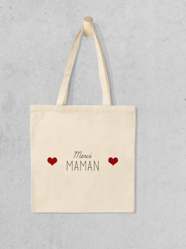 Tote bag Merci maman