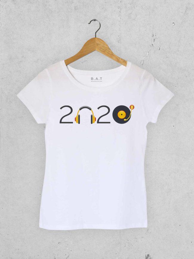 T-shirt Musique 2020