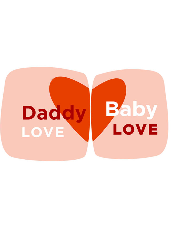 Love Daddy & Baby – Matchy