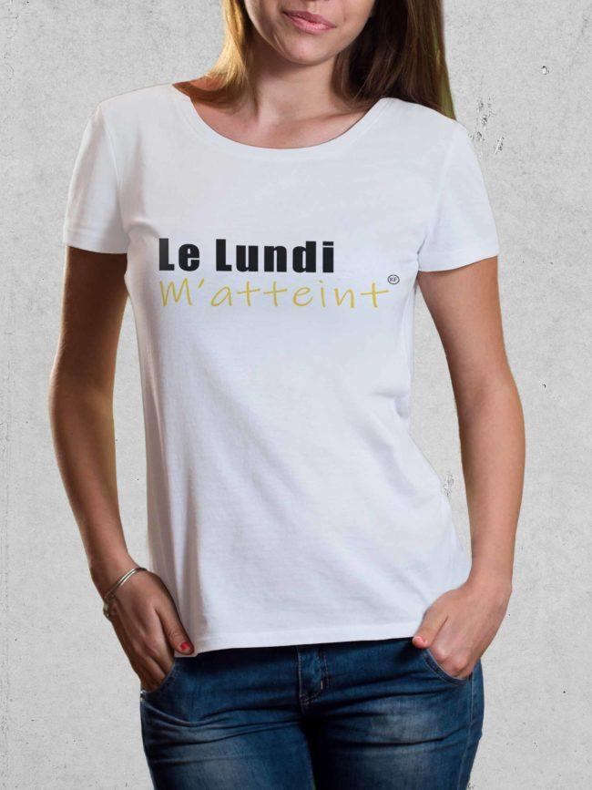 T-shirt Lundi m'atteint