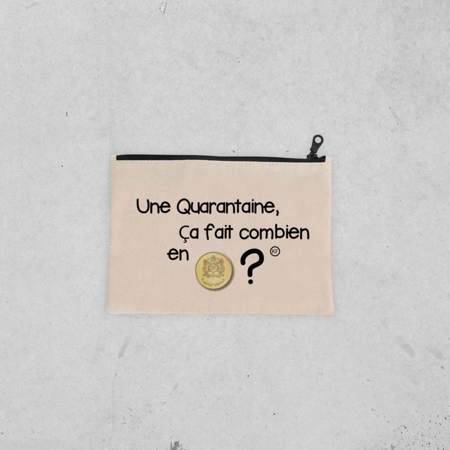 Pochette Quarantaine en riel