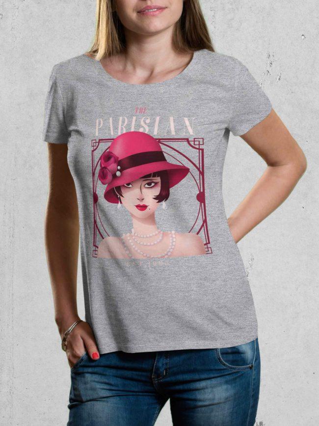 T-shirt The Parisian